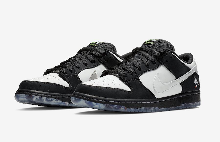 """, Nike SB Dunk Low """"Panda Pigeon"""""""