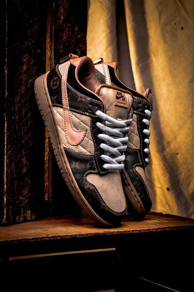 , Exclusive BespokeIND Nike SB Dunk Low 'Louis Vuitton' to Drop