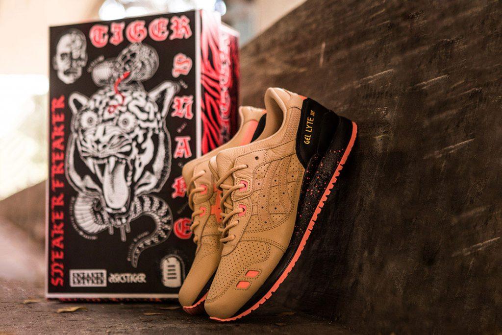 ", Sneaker Freaker x AsicsTiger Gel-Lyte III ""Tiger Snake"""