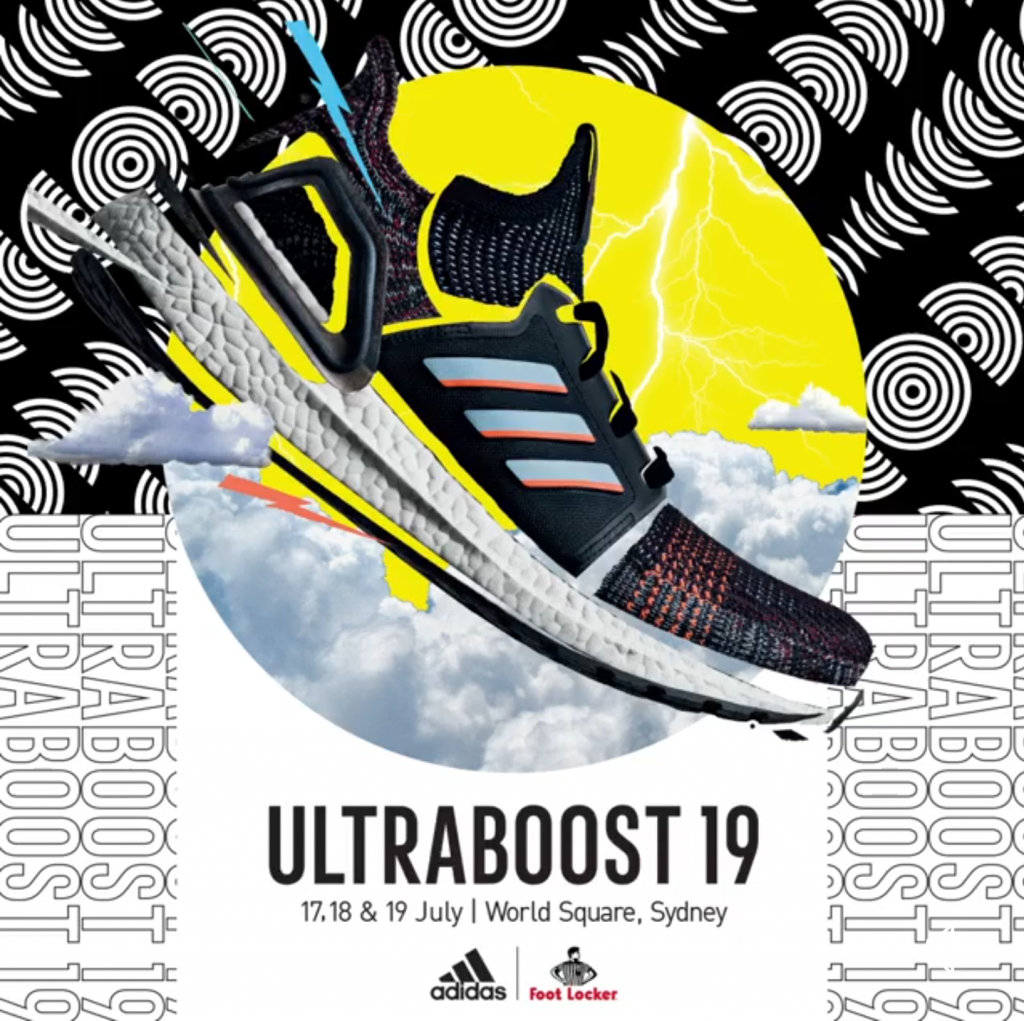 , Foot Locker x adidas Ultraboost 19 Sydney Event