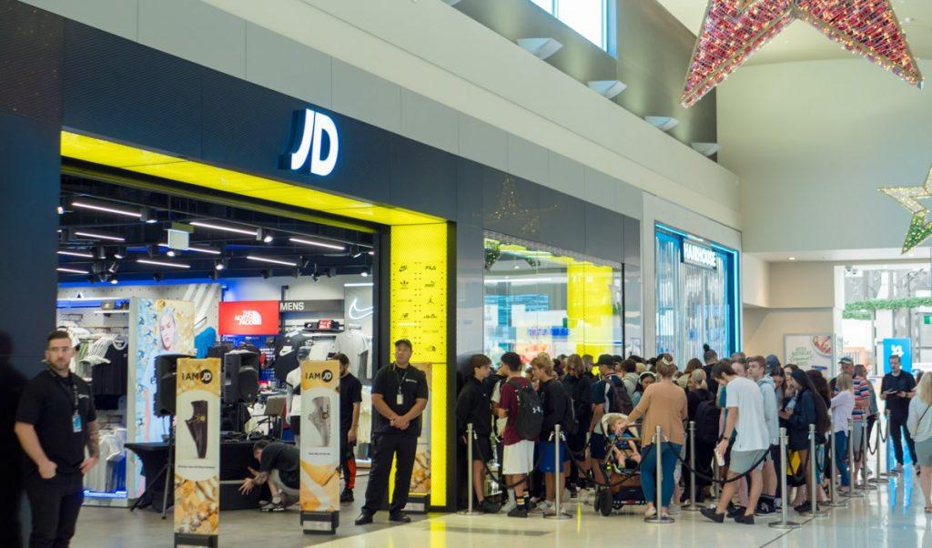 , JD Sports – Lakeside Joondalup Grand Opening
