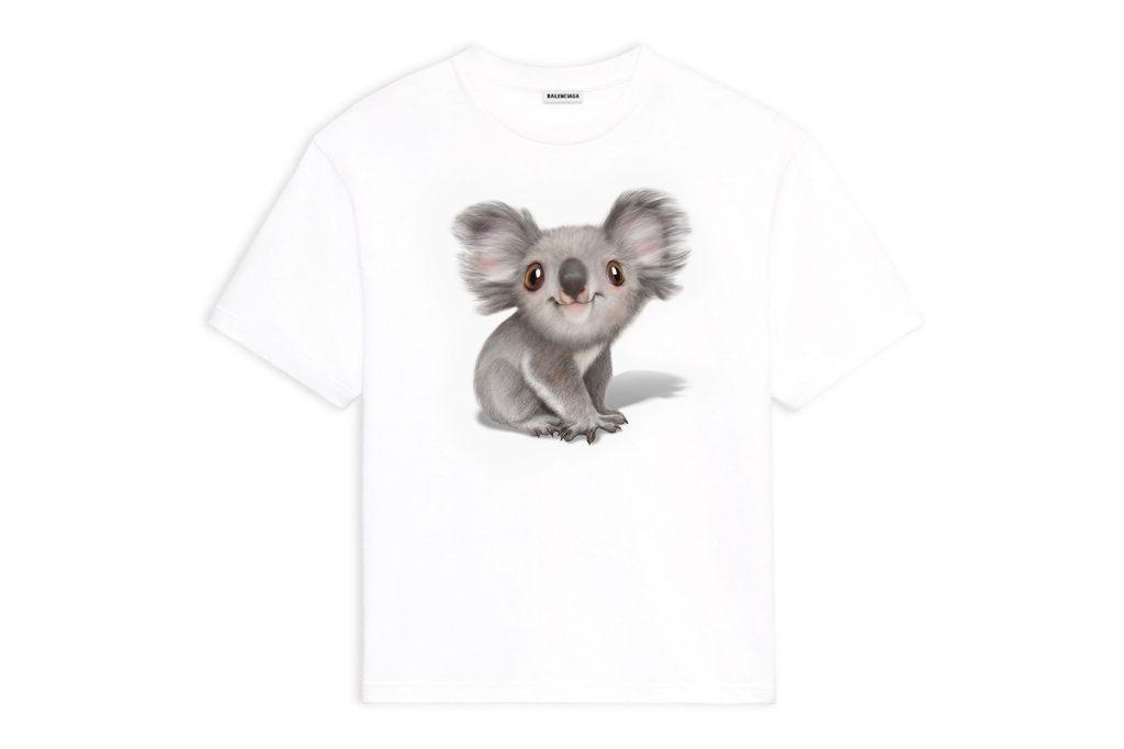 , Balenciaga Koala Apparel