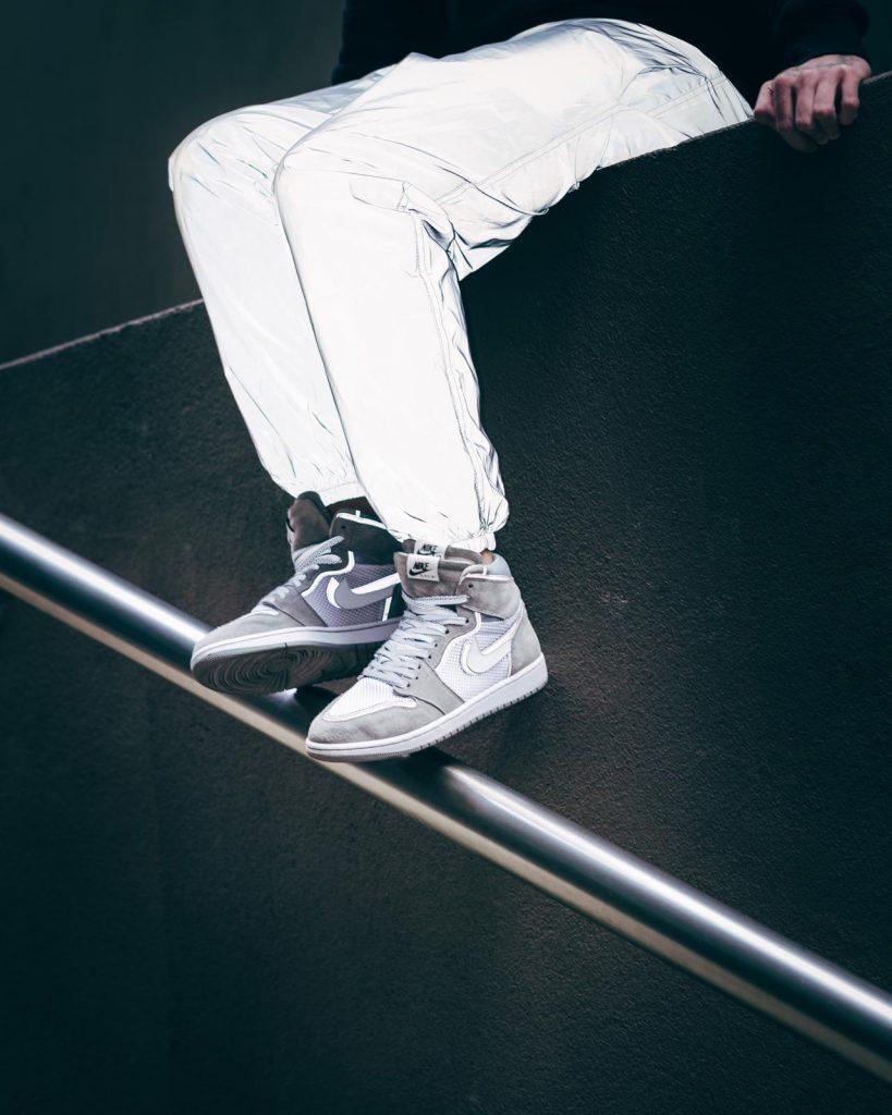 , Chase Shiel x Fiamma Studios Jordan 1 Grey SCI