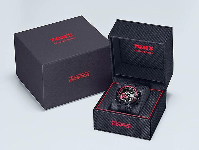 , TOM'S Racing x Casio EDIFICE