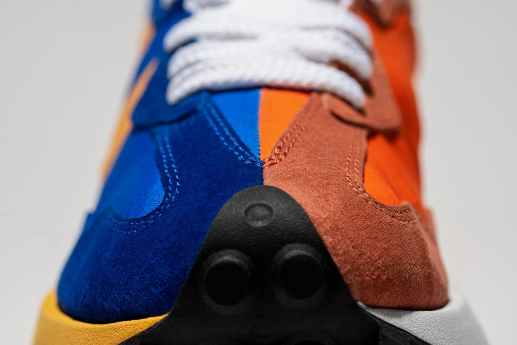 , Modern Design with 70's Heritage: New Balance 327