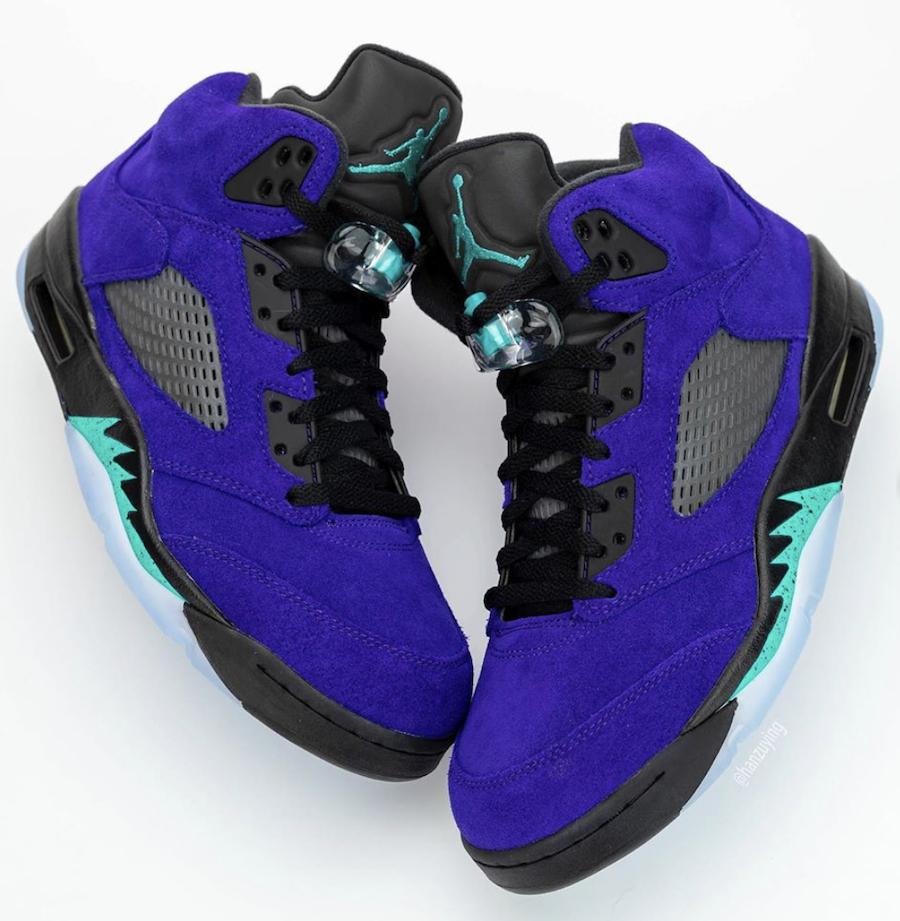 Jordan Retro 5 Alternate Grape