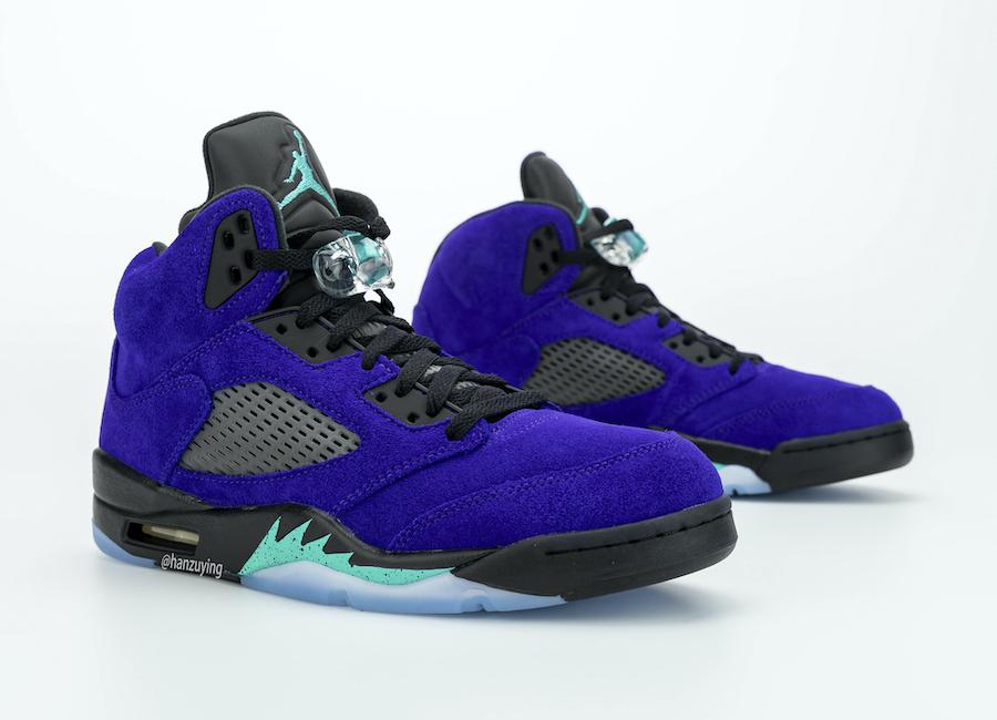 "Jordan 5 Alternate Grape, Air Jordan 5 ""Alternate Grape"""
