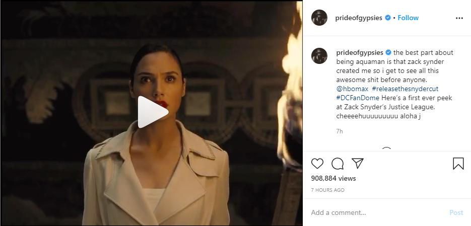 , Justice League Snyder Cut Teaser Trailer