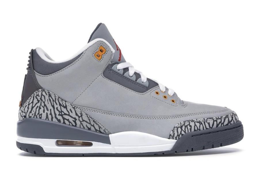 """Jordan Retro3 Cool Grey, Air Jordan Retro 3 """"Cool Grey"""" Release Info"""