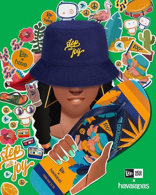 Havaianas x New Era, Havaianas x New Era 'Step into Joy'