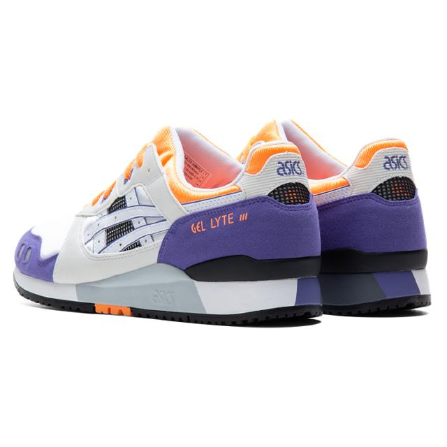 ASICS GEL-LYTE III Orange Purple, ASICS GEL-LYTE III Orange and Purple