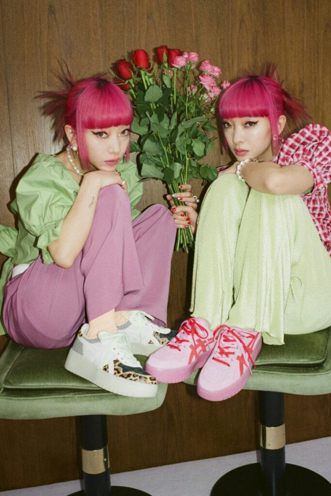 jouetie atmos pink ASICS, jouetie x atmos pink x ASICS JAPAN S™ PF
