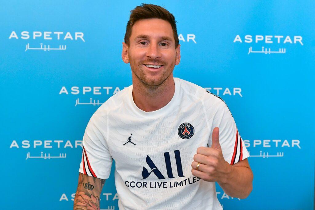 PSG Sign Lionel Messi, PSG Sign Lionel Messi